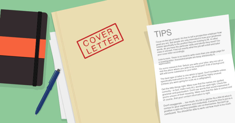Tips for your Covering Letter